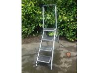 Platform Aluminium Step Ladder