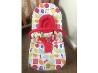 Baby bouncer - mamas and papas. Good as new. From a clean smoke free home