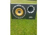 Vibe cbr evo 2 sub and built in amp