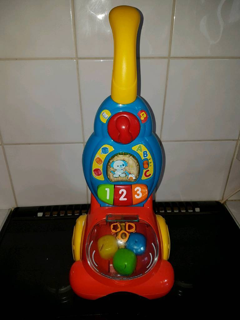 Vtech counting vaccum cleaner