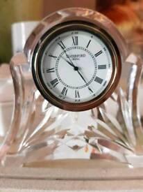 Waterford crystal mantle clock
