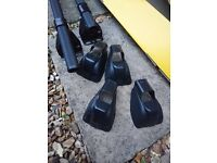 Roof bars for BMW 1/3 series used once