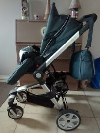 Baby Elegance 3in1 travel system. Immaculate condition