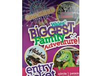 Oakwood theme park tickets