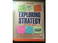 Exploring Strategy: Text and Cases 10th Edition