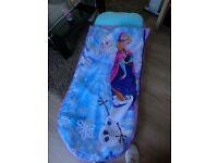 frozen kids ready bed