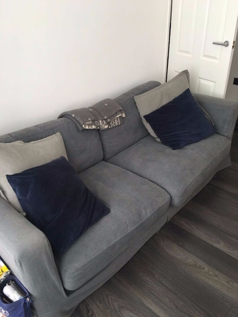 french connection dfs 4 seater sofa with removable and