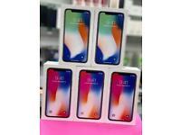 iPhone X 256gb like new box Warranty Open on all sim