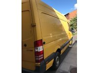 Man and Van Service (SHEFFIELD, ROTHERHAM, CHESTERFIELD, all through to LONDON) STUDENTS DISCOUNT