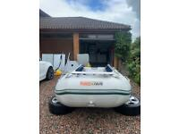 Honwave T40 rib boat fishing 14foot dinghy