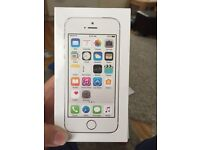 BNIB iPhone 5s -silver 16gb