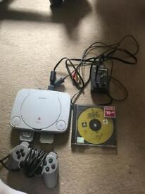 PlayStation 1 with yu gi oh