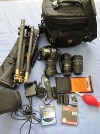 Nikon D7200 Plus Lenses and accessories