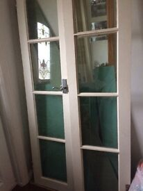 French doors solid wood