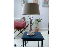 Table lamp pair with diffuser shades