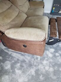 Two Seater electric recliner