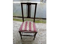 For sale, antique chair.