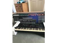 Yamaha PSR-500 electric keyboard