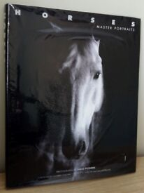 huge book of photographs of Horses by Fabio Petroni