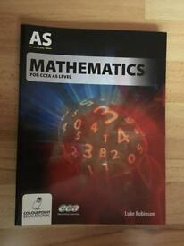 CCEA Mathematics for AS Level textbook