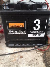 Use car battery for sale.