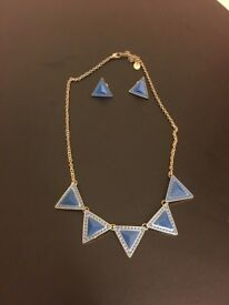 Necklace and earring set for sale