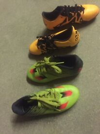 Adidas Messi boots 2 and 2 1/2