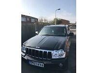 2007 Jeep Grand Cherokee 3.0 crd. Full leather. Heated seats. Mot and taxed