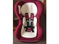 Mothercare Car Seat Birth to 4 years, group 0+-1 in great condition