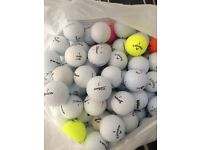 GOLF BALLS X 100 EXCELLENT QUALITY- TOP MAKES