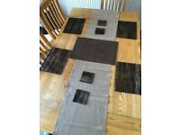 Dining placemats & runner & coaster
