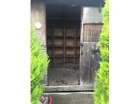 Pigeon shed- buyer dismantle