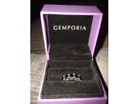 BRAND NEW WOMENS SILVER DRESS RING - SIZE P