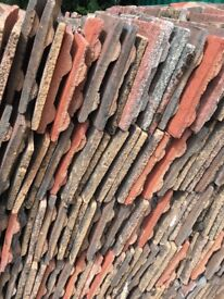Marley concrete used roof tiles 1p each