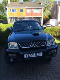 Mitsubishi L200 Warrior pickup up Black 4WD £3750 ONO