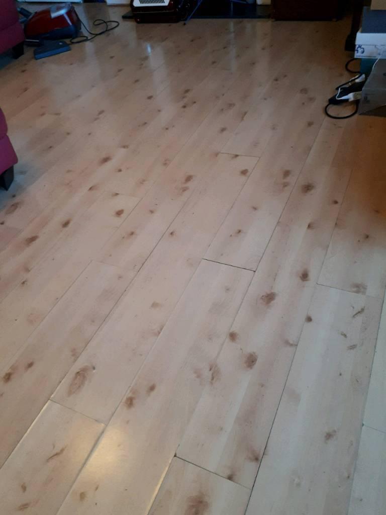Laminate Flooring Used 8sqm