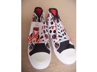 ( New ) Mothercare Mickey shoes size 13