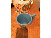 CLEARANCE! Brand new mugs with sunny patterns
