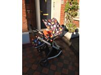 Cosatto Giggle 2 Travel System Fable pushchair car seat Isofix etc excellent condition