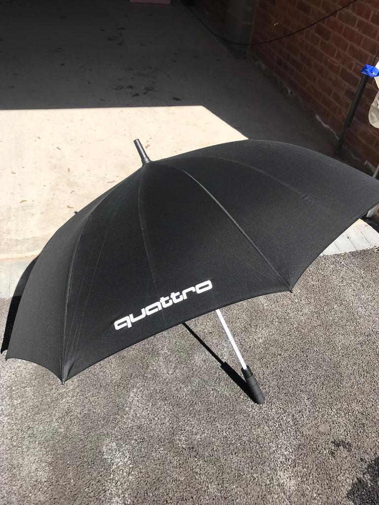 Large Audi Quattro Umbrella In Bury Manchester Gumtree - Audi umbrella