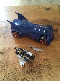 Batman car & figure