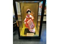 Oriental Lady in Display Cabinet