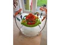 Fisherprice roaring rainforest jumperoo