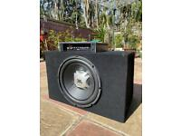 "JBL 12"" Subwoofer + BOSS AMP (1000 watts)"