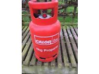 Spare propane gas bottle