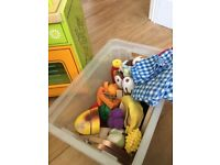 Children's Play Kitchen plus Play BBQ (with lots of accessories!!)