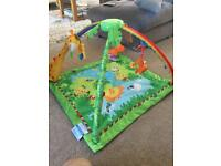 Fisher price jungle baby play gym