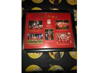 Liverpool champions of Europe picture frame