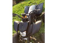 Road legal quad 250 bashan 10 month mot