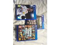 PlayStation four games for sale